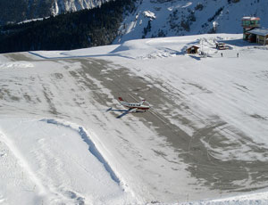 Aéroport courcheval